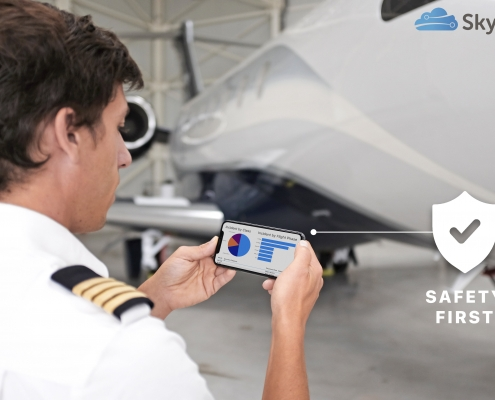 Skylegs sales and scheduling platform had built-in safety features